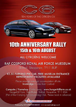 Citro�n Car Club celebrates 10th anniversary of the launch of the C6