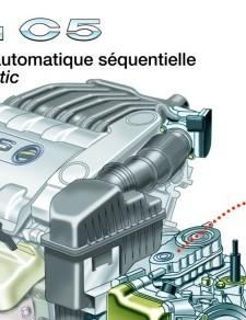 Citroën C5 technical