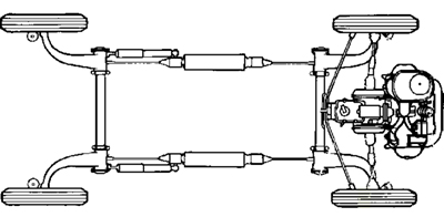 citroen 2cv suspension system