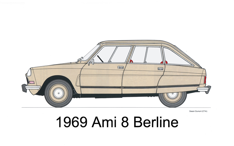 citroën ami 8 berline