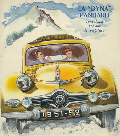 Panhard Dyna Publicity