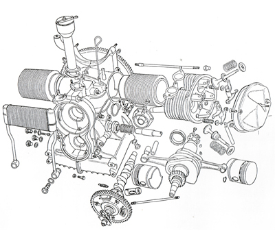 Pictures Of Boxer Engine Diagram