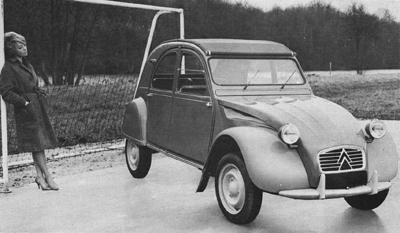 citroen 2cv 1961