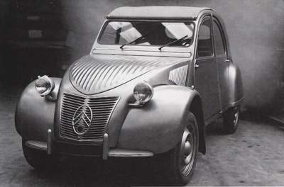 Citro 235 N 2cv 1950 Au Fourgonette