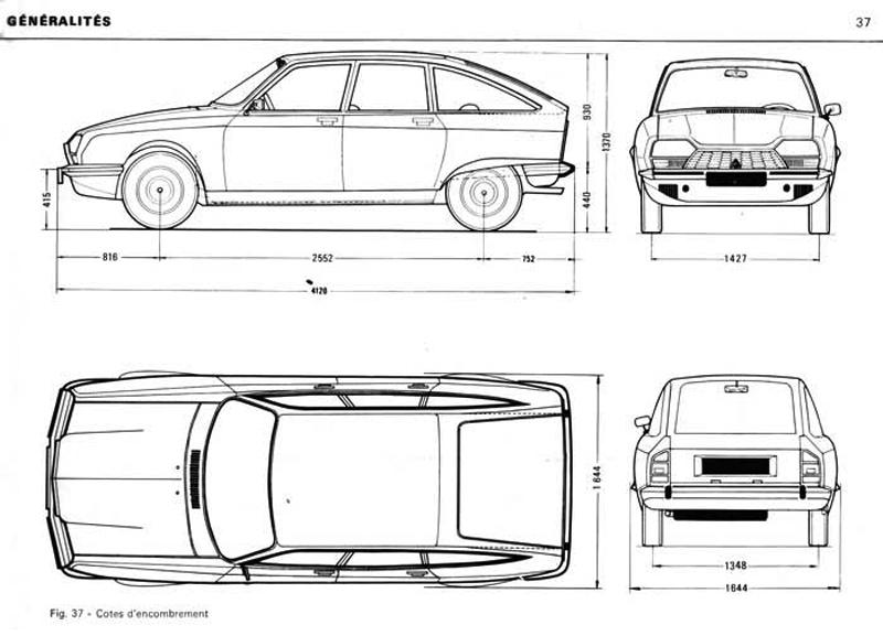 Blueprint Of A  S Cars
