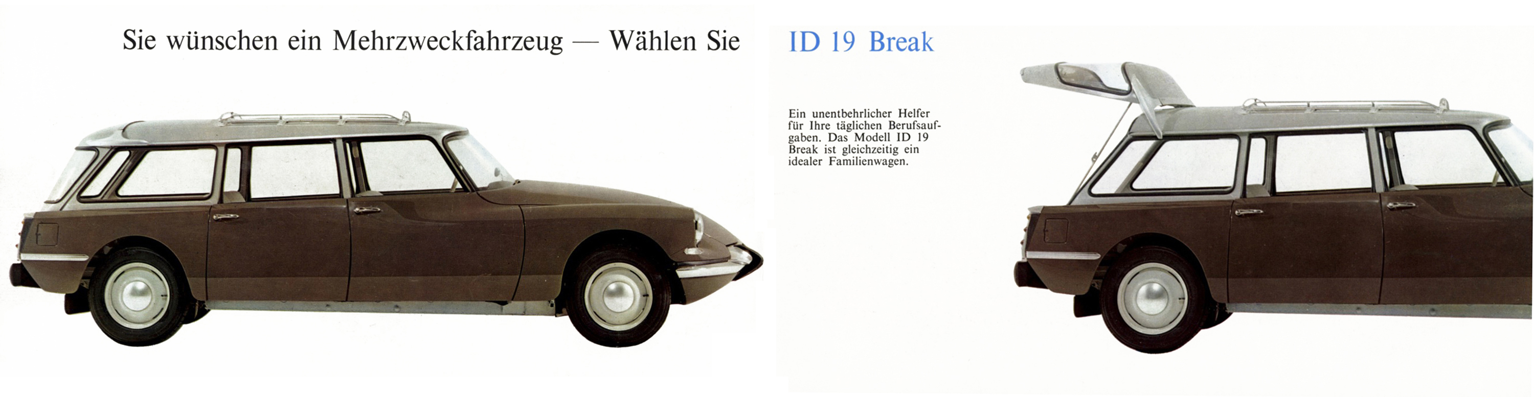 Citro 235 N 1962 German Id19 And Ds19 Brochure