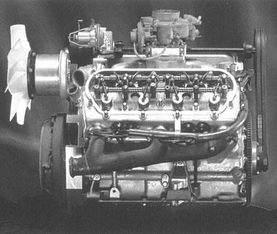 Citroen V4, V6 and V8 engines