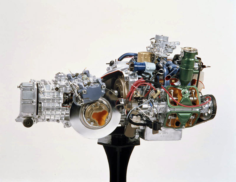 Citro 235 N Gs Gsa Boxer Engine