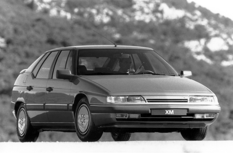 Citroën XM publicity photo gallery 1