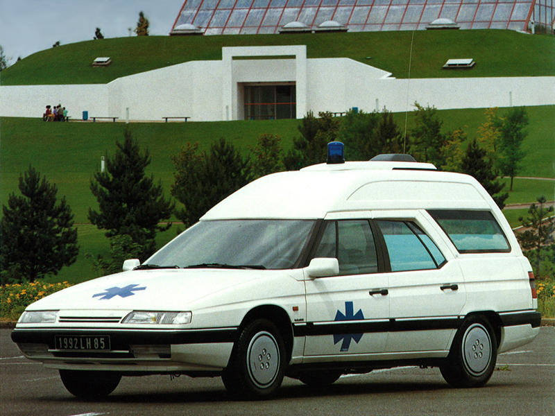 Citroën XM publicity photo gallery