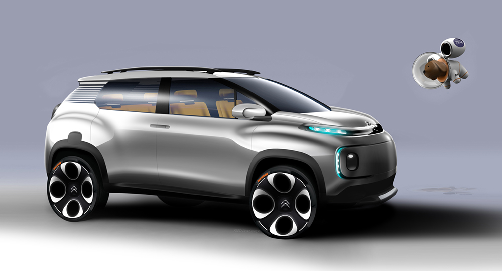 Genesis Of The Citro 235 N C Aircross Concept