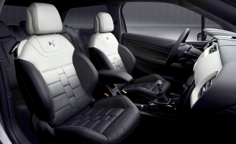 Citro n ds3 inside for Auto interieur styling
