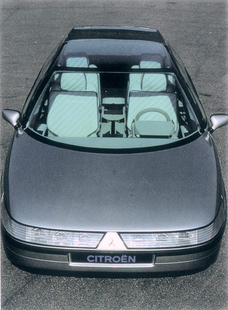Citro 235 N Eole Concept Car