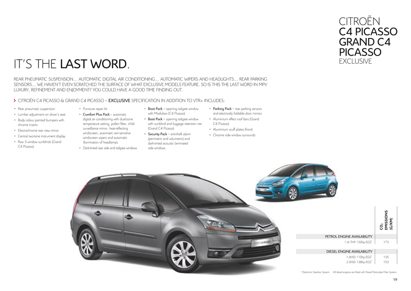citro235n c4 picasso and grand c4 picasso uk brochure 2010