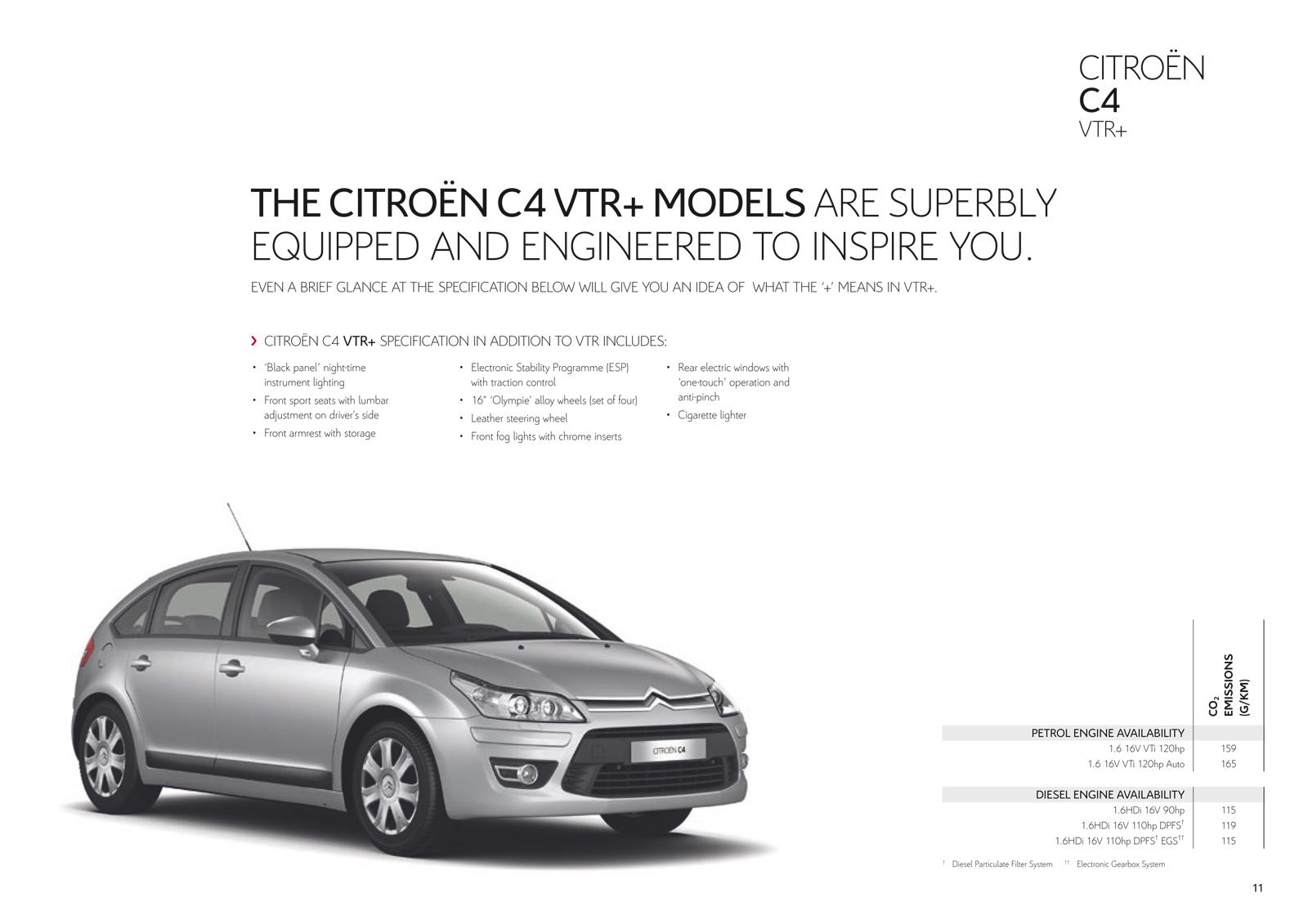 citro235n c4 uk brochure 2010