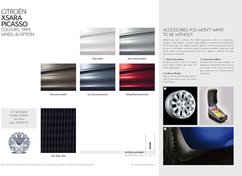 citroen c4 picasso brochure pdf