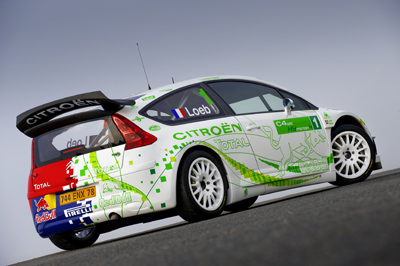 Citroen Rally Cars C4 Wrc Hymotion