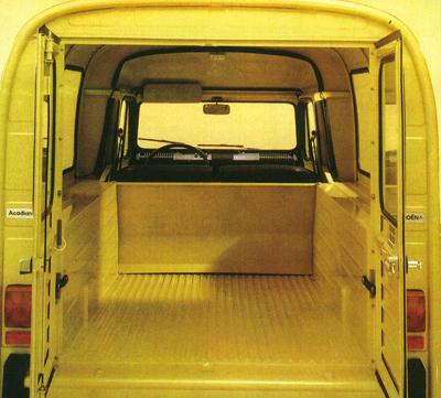Acadiane Citro 235 N 2cv Based Light Commercial Vehicles