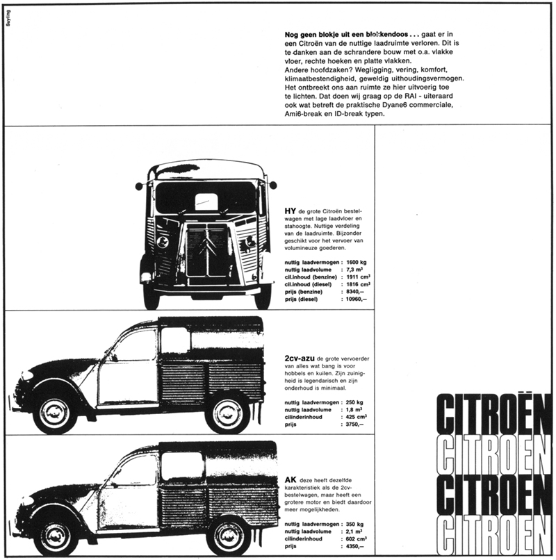 Citro�n H Van 2cv Azu Ak Advertisement: Citroen H Van Wiring Diagram At Gundyle.co